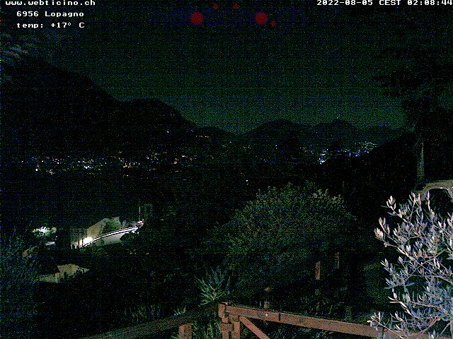 webcam ticino Lugano, San Salvatore Switzerland